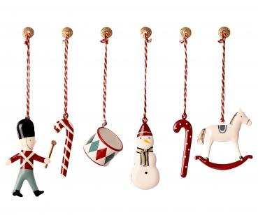 Maileg Anhänger in Box | Weihnachtsschmuck | Klassik