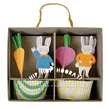 "Meri Meri Cupcake Set ""Hip Hop Hooray"""