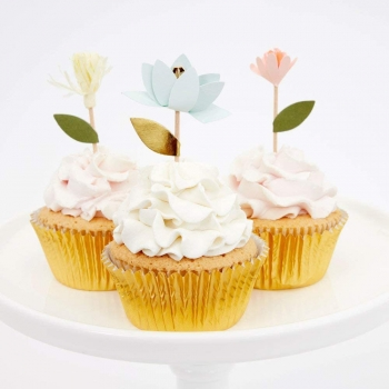 Meri Meri Cupcake Set | Flower Bouquet