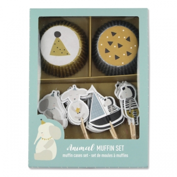 ava&yves Cupcake Set | Tiere