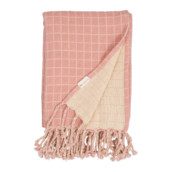Fabelab Babydecke | Musselin | old rose
