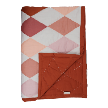 Fabelab Patchwork | Diamond | rose