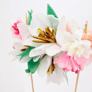 Meri Meri Cake Topper | Flower Bouquet