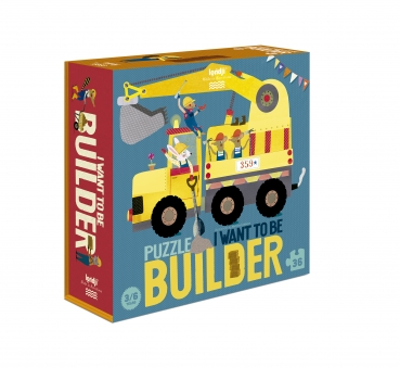 Londji Puzzle | I want to be...Builder