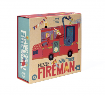 Londji Puzzle I want to be...Fireman